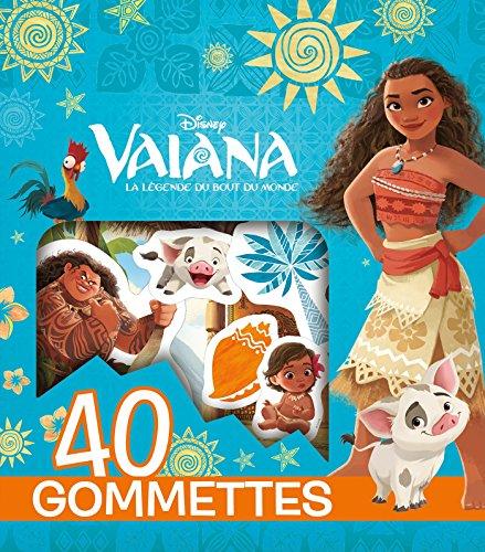 VAIANA - 40 Gommettes - Disney