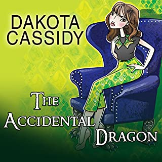 The Accidental Dragon audiobook cover art