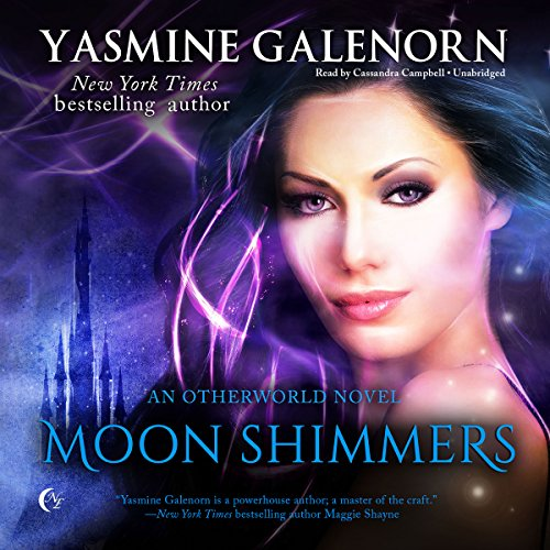 Moon Shimmers audiobook cover art