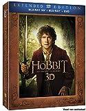 Le Hobbit : Un Voyage inattendu [Version Longue 3D + Blu-Ray + DVD + Copie Digitale]