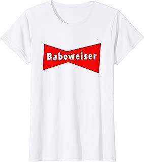 Womens Babeweiser Vintage Logo T-Shirt