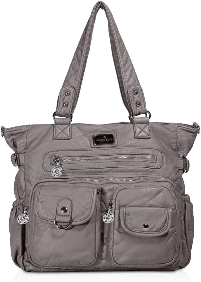 NICOLE /& DORIS Donna Borsa a tracolla borsa hobo borse a tracolla multitasche Cachi