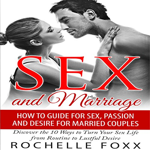 Sex and Marriage audiobook cover art