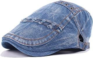 Fashion Hats Beret Cap Summer Autumn Spring Winter Caps Painter Hat Leisure Retro Hat Wool Ladies Washed Denim Men's Tide Visor Forward Cap White Marble Pattern Elegant Hats