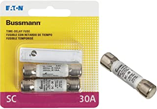 Bussmann BP/SC-30 30 Amp Time-Delay Class G Melamine Tube, 600V UL Listed (Pack of 2)