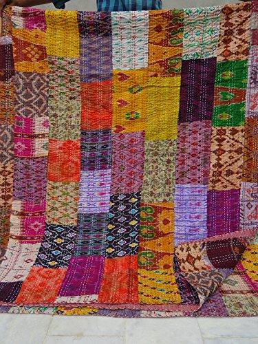 Tribal Asian Textiles - Patchwork-Steppdecke,...