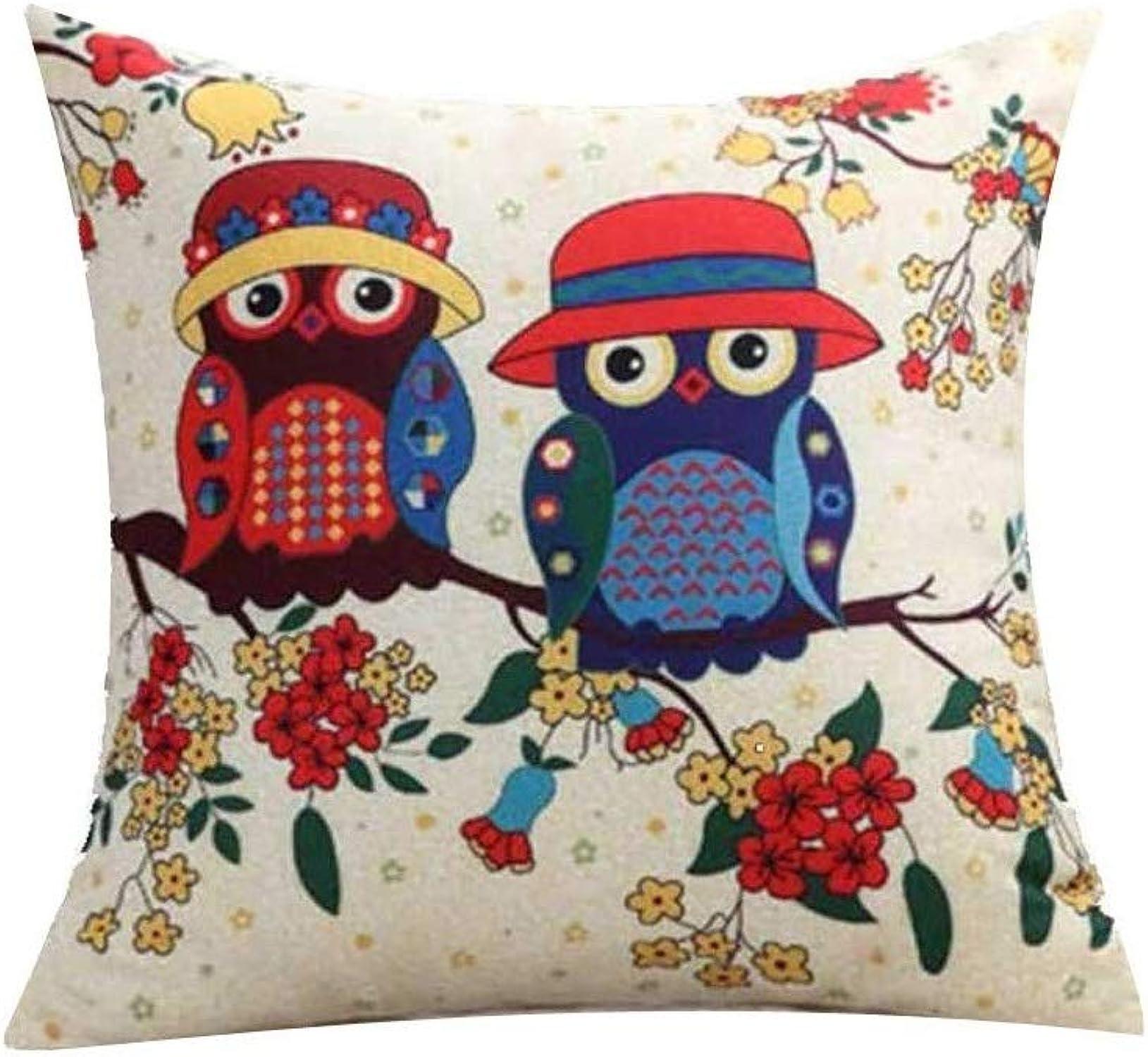 JIMI-I Taie d'oreiller de jet de mode simple café housse de coussin décor à la maison (taille   60  60cm)