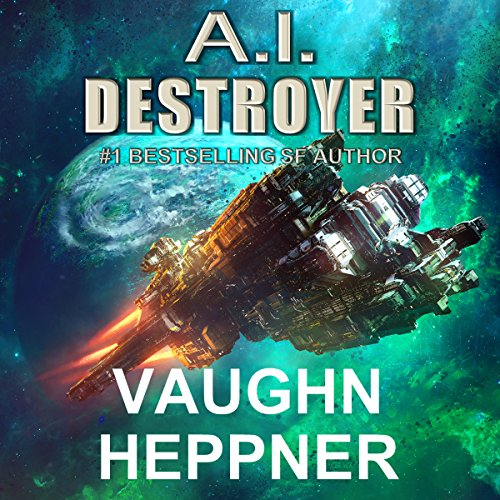 A.I. Destroyer audiobook cover art