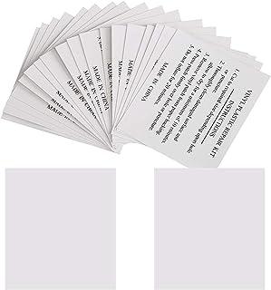 GWHOLE Pack of 20 Vinyl Repair Patches Repair Tape Kit
