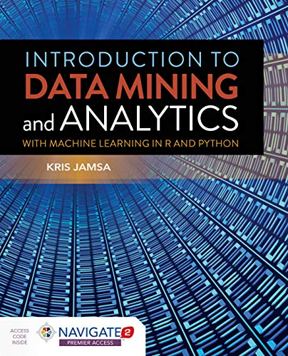 Introduction to Data Mining and Analytics Front Cover