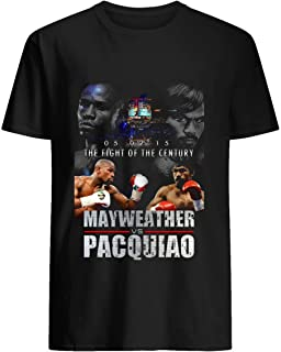 Pacquiao vs Mayweather 38 Cotton short sleeve T shirt, Hoodie for Men Women Unisex
