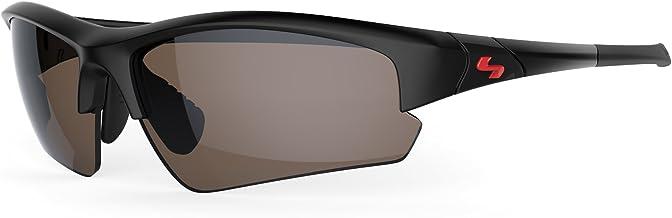 Sundog TB Clutch Sunglasses, Rubber Black Frame/Brown FM Lens