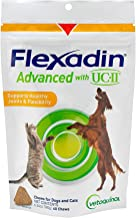 Vetoquinol Flexadin Advanced with UC-II for Dogs & Cats for Joint & Hip Support and Joint Mobility