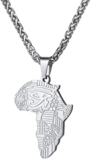 Best africa pendant silver Reviews