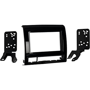 Metra 95-8235CHG Double DIN Dash Installation Kit for 2012 Toyota Tacoma Vehicles (Charcoal High Gloss)