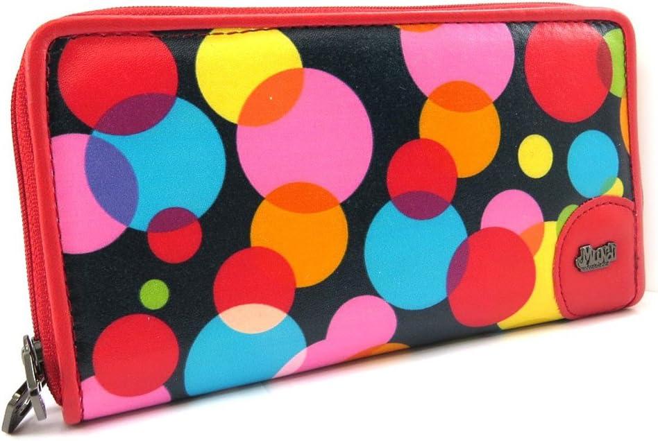 Zipped wallet 'Mundi' tutti frutti.