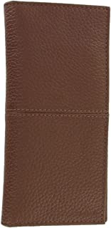 Cole Haan Men's Genuine Leather Cognac Bi-Fold Breast Pocket Wallet