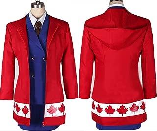 HOLRAN Axis Powers Hetalia Canada Gender ver Cosplay Costume-Made
