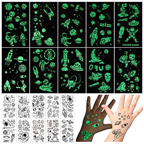 Phogary 10 Hojas Tatuajes Temporales Niños Etiqueta