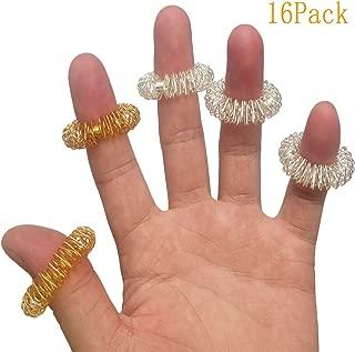 Spiky Sensory Finger Rings, Stress Relief Fidget Sensory Toys(Pack of 12),Fidget Rings Kids Teens & Adults Silent Stress Reducer & Massager for Fidget ADD ADHD OCD Autism