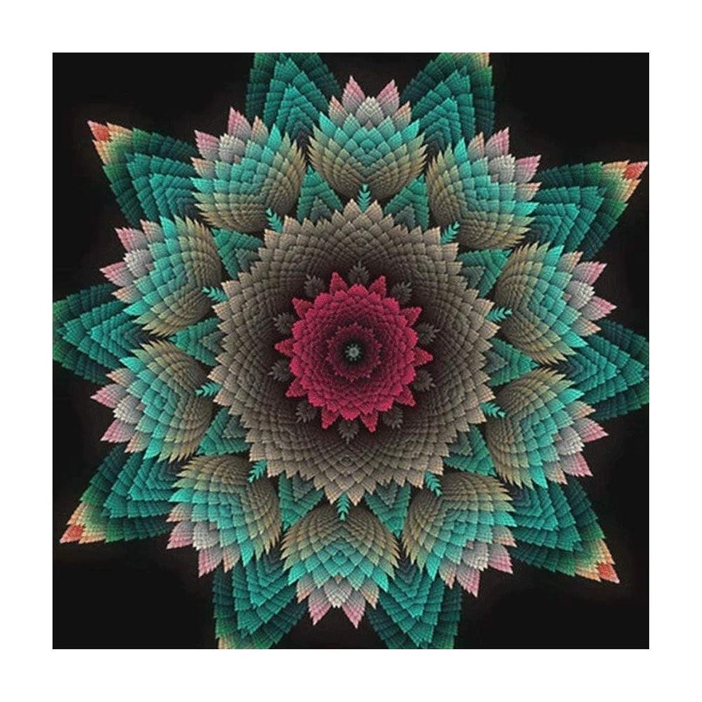 Customize 5D Diamond Painting Full drills Floral DIY Diamond Embroidery Kit Mandala Full Diamond Painting By Number Mosaic Cross Stitch Craft Needlework Decor