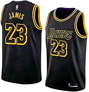 MTBD NBA Lebron James, NO.23 Lakers Retro, Camiseta de