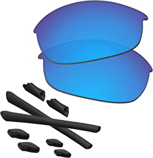 Half Jacket Lenses & Rubber Kits Replacement for Oakley Sunglasses Polarized