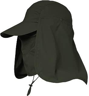 Jormatt Women & Men Outdoor Sun Hat UV Protection Fishing Hiking Caps With Face Neck Flap Cover UPF 50+