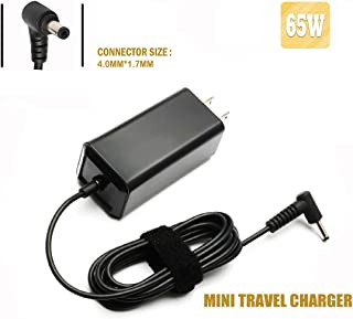 65W Laptop Adapter Charger for Lenovo IdeaPad Flex 4 5 6 1470 1480 1570; 110 110s 310 320 330 330s 510 520 530s 710s; Chromebook-100s 80QN N22 N42; Yoga 710 11 14 15 Travel Mini Charger Power Supply