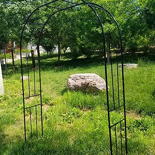 HJZY Plantes Grimpantes Métal, Arche de Mariage, Tuteur Roses Arche, pour Décoration de Fête de Mariage Support Fleurs et Ballon pour Les Anniversaires