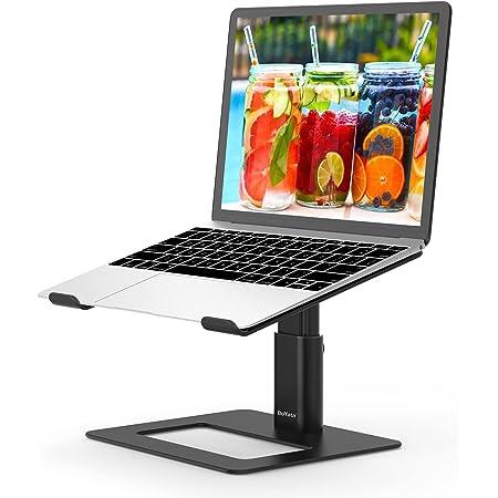 BoYata ノートパソコンスタンド 組み立て式 ノートPCスタンド タブレットホルダー 高さ調整可能 腰痛/猫背防止 滑り止め アルミニウム合金 ホルダー Macbook Air/Macbook Pro/iPad Pro and Notebooks等に対応