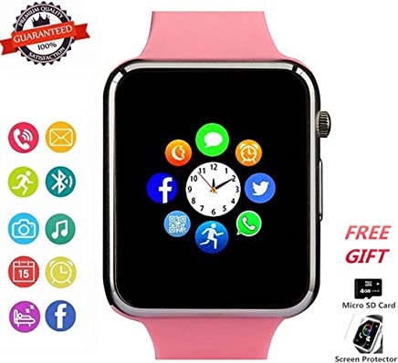 Smartwatch, Bluetooth Smart Watch Phone Wristwatch with...