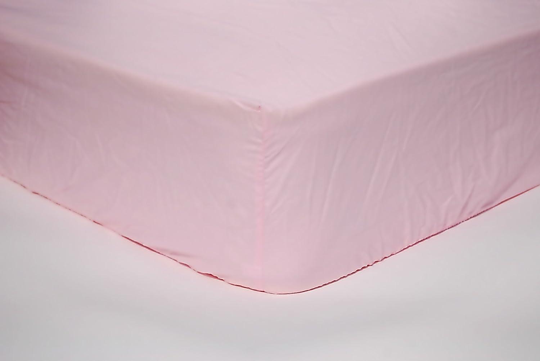 rosa tejido jersey 90//100x200//220 cm Snoozing S/ábana bajera ajustable
