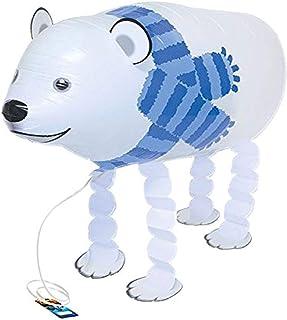 "Burton & Burton Polar Bear Pet Shape Foil Balloon, 23"""