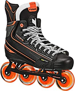 TOUR Code 2 Senior Inline Hockey Skates Black Size: 10.5 Black