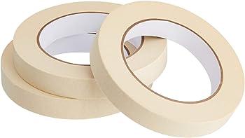 3-Rolls Amazon Basics 0.7 Inch x 180 Feet Masking Tape