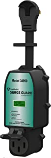 Southwire Black 34950 Surge Guard 50A-Full Protection Portable with LCD Display