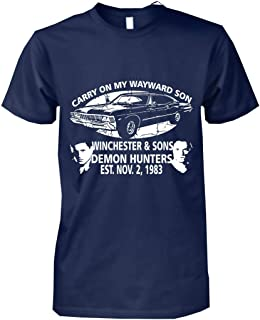 Supernatural Gift Carry On My Wayward Son T-Shirt