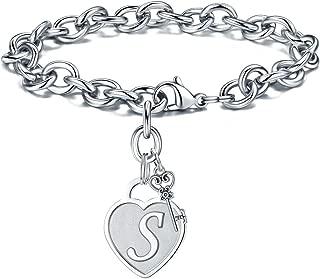 Best letter charm bracelet Reviews