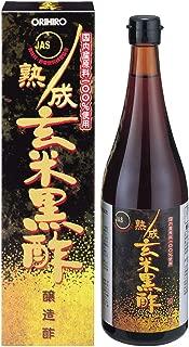 ORIHIRO JUKUSEI Brown Rice Black Vinegar (JAS)