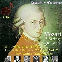 5 String Quintets (Juilliard Quartet, Trampler) by Wolfgang Amadeus Mozart (2004-11-02)