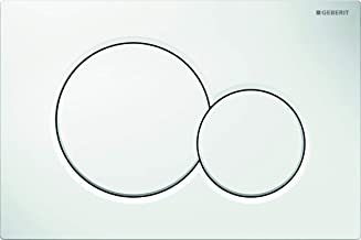 Geberit Sigma 01 Betätigungsplatte, 1 Stuk, weiß, 115.770.11.5