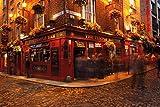 GB Eye Dublin Temple Bar Maxi Poster, Mehrfarbig