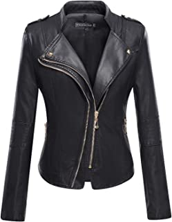 gold faux leather jacket