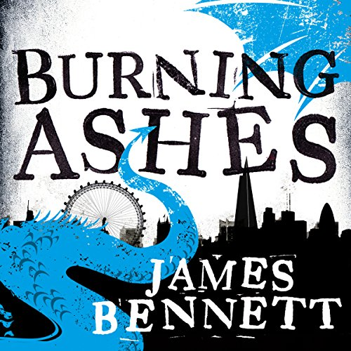 Burning Ashes audiobook cover art