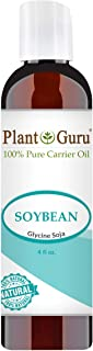 Soybean Oil 4 oz Carrier 100% Pure Natural For Skin, Body, Face, and Hair Growth. Great For Creams, Lotions, Lip balm and Soap Making