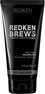 Redken Brews Holding Gel For Men, Medium Hold, Medium Shine, Flake-Free, Hair Gel