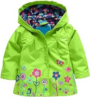 Girl Baby Kid Waterproof Hooded Coat Jacket Outwear Raincoat Hoodies
