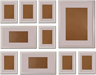 FUNTRESS 10 Pieces Gallery Wall Photo Frames Set for Wall 16'' 12