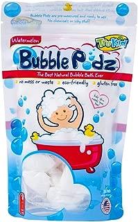 TruKid Bubble Podz, Natural Bubble Bath for Kids with Sensitive Skin, Watermelon Scent, 24 Count